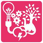 Tutki Kokeile Kehitä logo